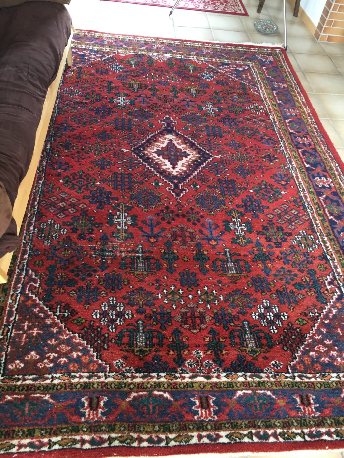 USED PERSIAN RUGS I bought in Germany~!
