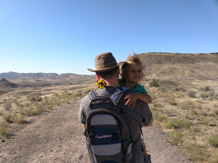 Visiting the Painted Hills and Exploring the Wild West Town of Mitchell,Oregon!